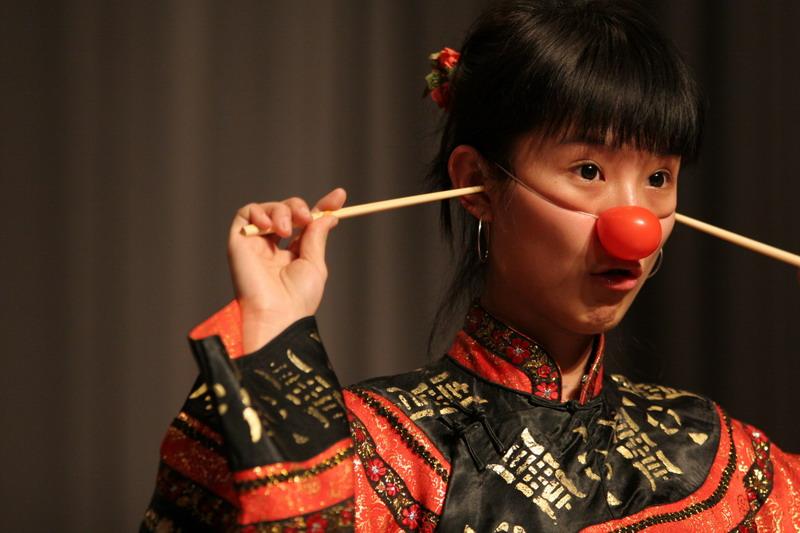 小丑表演3244